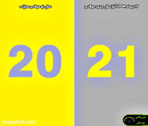 آغاز سال 2021 تبریک